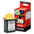 Lexmark Ink No 20 Color 015MX120E