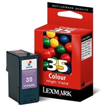 Lexmark Ink No 35 Color (High yield) 018C0035E