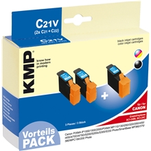 KMP - Savings Pack - C21V - BCI-24BK / BCI-24C 0944.0005