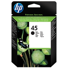 HP Ink No 45 Black 51645AE_ABB