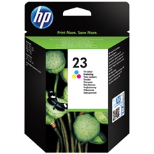 HP Ink No 23 Tri-Colour C1823DE_ABB