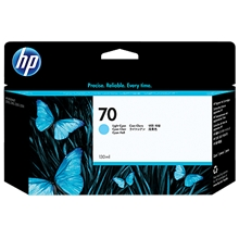 HP 70 ink cyan light Vivera 130 ml C9390A