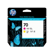 HP No70 Printhead magenta+yellow C9406A