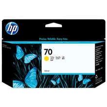 HP 70 ink yellow 130 ml Vivera C9454A