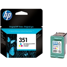 HP Ink No 351 Tri-colour CB337EE