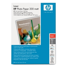 HP A4 Photo Laser Paper Matt 200 Q6550A